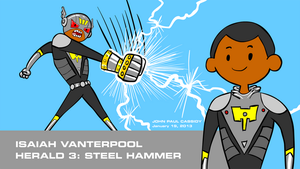 Steel Hammer - Pen Ward Style by ryuuseipro