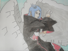 Konan with Paper Wings by inspired118