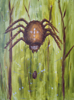 just a little spider by Verbeley