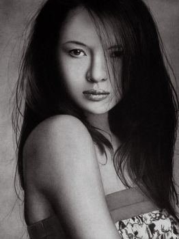 Zhang Ziyi - Bad hair Day by KLSADAKO