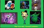 The boy who won't behave Poster. by Smurfette123