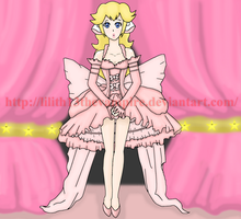 Princess Peach as Chii by Lilith13thevampire