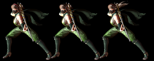 Hitomi Ninja Costume Pack from DOA5LR XPS by wadamen