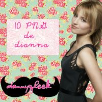 pack png Dianna agron by dannygleek
