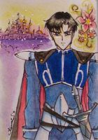 ACEO No23 - Prince of Earth by unconventionalsenshi