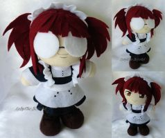 Commission, Mini Plushie Meyrin by ThePlushieLady