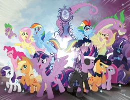 My Little Pony 32 Friends Forever 18 Jetpack CVRS by TonyFleecs