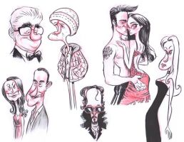 Feb sketching 1 by JeffVictor