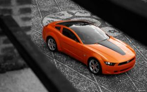 Ford Mustang Wallpaper by Altair090