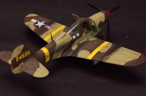 Bell P39L Airacobra by shonenred