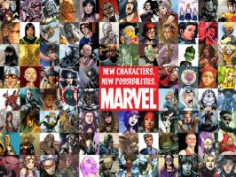 Marvel: New Characters by flyingsquiggle