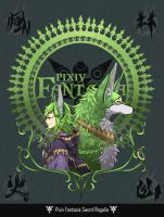 Pixiv Fantasia Sword Regalia-Awoo Greeeen by Yeale