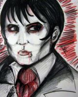 Barnabus Portrait (Entry) by nickywarbler