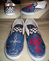 Kingdom Hearts Shoes by Chemi-Angel