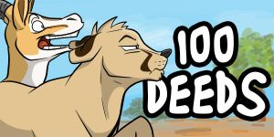 100 Deeds by secoh2000