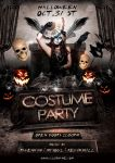 Costume Party Flyer Template by BriellDesign