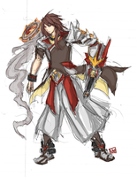 Entei Gijinka Concept by bulletproofturtleman