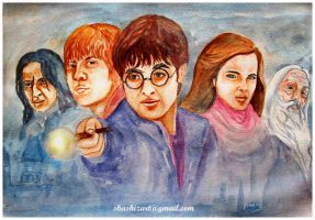 The legends of Harry Potter by Shashikanta