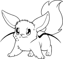 Orion Attacks- Uncolored by Eevee4Ever