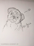 Pug Scribble/Sketch by xXChibiRukiaXx