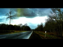 The long and dreary road. by OMGitsKen