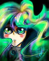 Neon Hair by AudichterBlindgod
