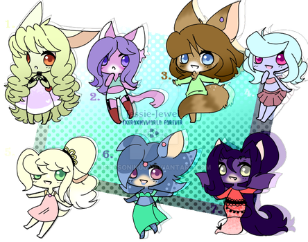 Quick Female Adopts~open~ by Jessie-Jewel