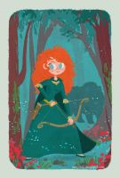 princess merida by tinysnail