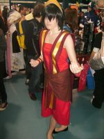 Toph .Fire nation. by HotaruKitty