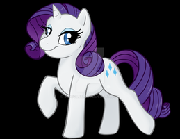 Mini Stand Up Rarity by Sciggles