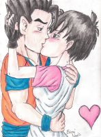.:Gohan and Videl:. by Th3Brittni
