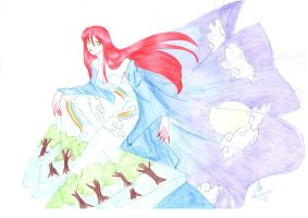 the red witch by IslaAntonello