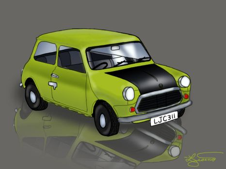 Mr. Bean's Car by ljcosuco