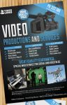 Edit Video Production And Services Flyer/Poster by Giunina