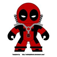 deadpool mighty mugg design WIP by emptysamurai