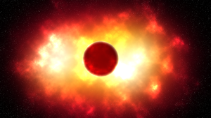 Exploding planet by Oxize