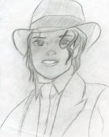 Michael as a Smooth Criminal by Ada1984