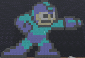 My Minecraft Megaman by VampiricJoker