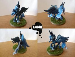 My Little Pony Princess Luna Sculpture 02 by dashingrainbow2012