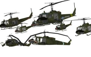 Uh-1 by 32Rabbit