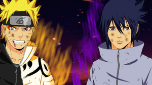 Naruto 650:  Sasuke And Naruto by ThePolishFox