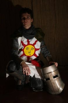 Solaire of Astora Dark Souls cosplay by LadyMoonshiner