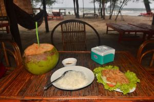 Cambodian dinner and a beach by drewhoshkiw