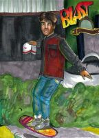 BTTF: Hoverboarding by bachel60