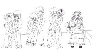 Persona Couples owo by juli12355
