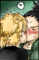 ShikaTema color Kiss by elmyky