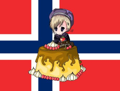 Norway - Pudding by Bazylyk19