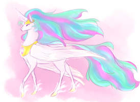 Celestia by Fox7XD