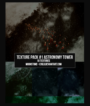 Texture Pack #1 Astronomy Tower by moonstone--child