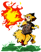 PokeCoast:Got Mah Flame Up by RagingLove